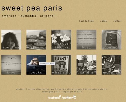 Accueil Sweet Pea Paris